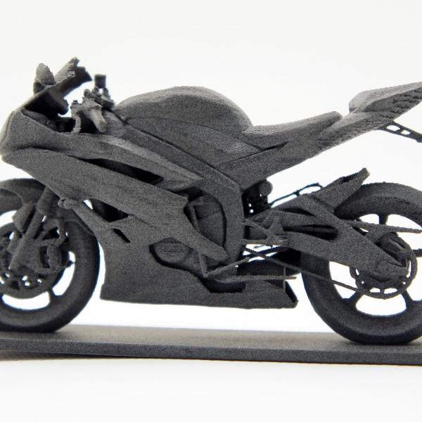 SLS 3D printed part